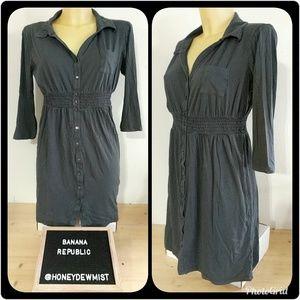• Banana Republic • Dark Grey Tunic or Mini Dress